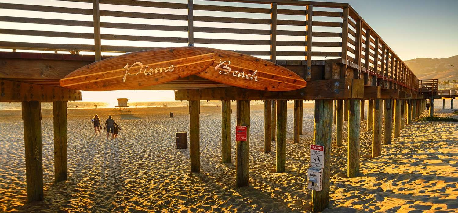 THE MOST POPULAR ATTRACTIONS IN PISMO BEACH ARE LOCATED NEARBY BEACHWALKER INN & SUITES